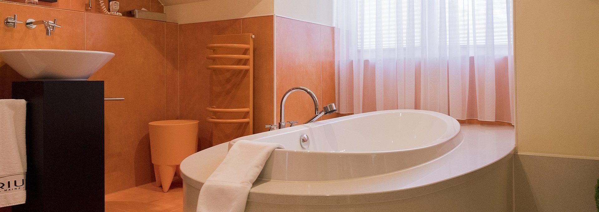 Aufnahme Badewanne