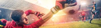 Aufnahme Fusballspiel