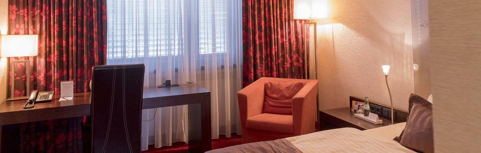 Comfort Einzelzimmer Atrium Hotel Mainz