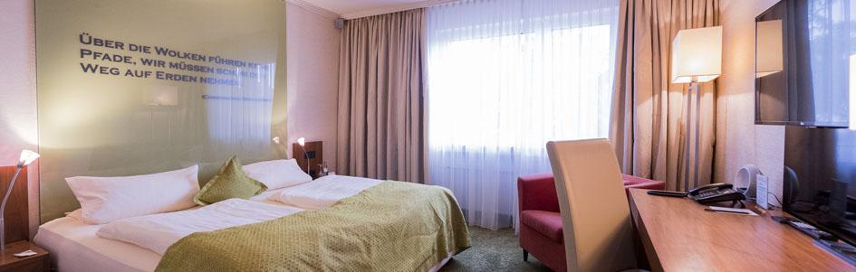 Comfort Doppelzimmer Atrium Hotel Mainz