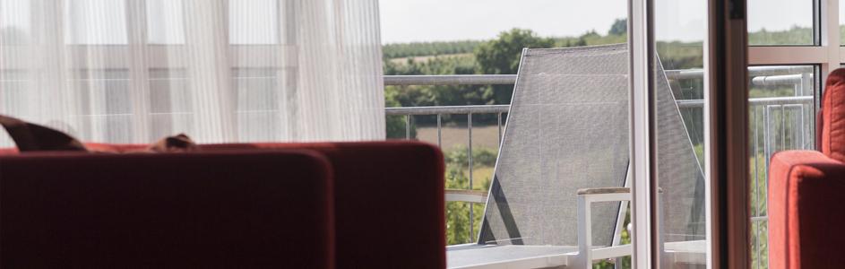 Detailaufnahme Balkon Appartement