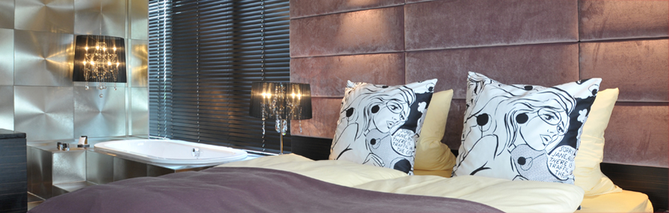 Nahaufnahme Bett Grand Suite