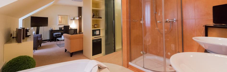 Aufnahme Badezimmer Junior Suite
