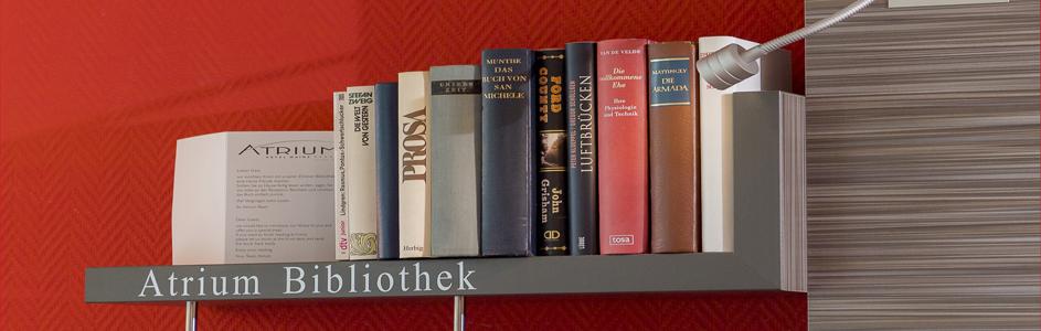 Detailaufnahme Appartement Atrium Bibliotkek