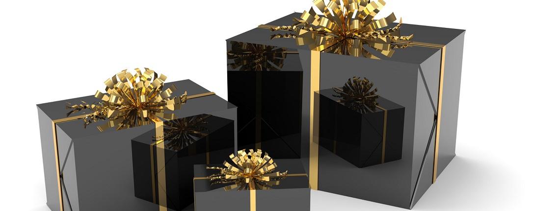 Aufnahme Geschenke