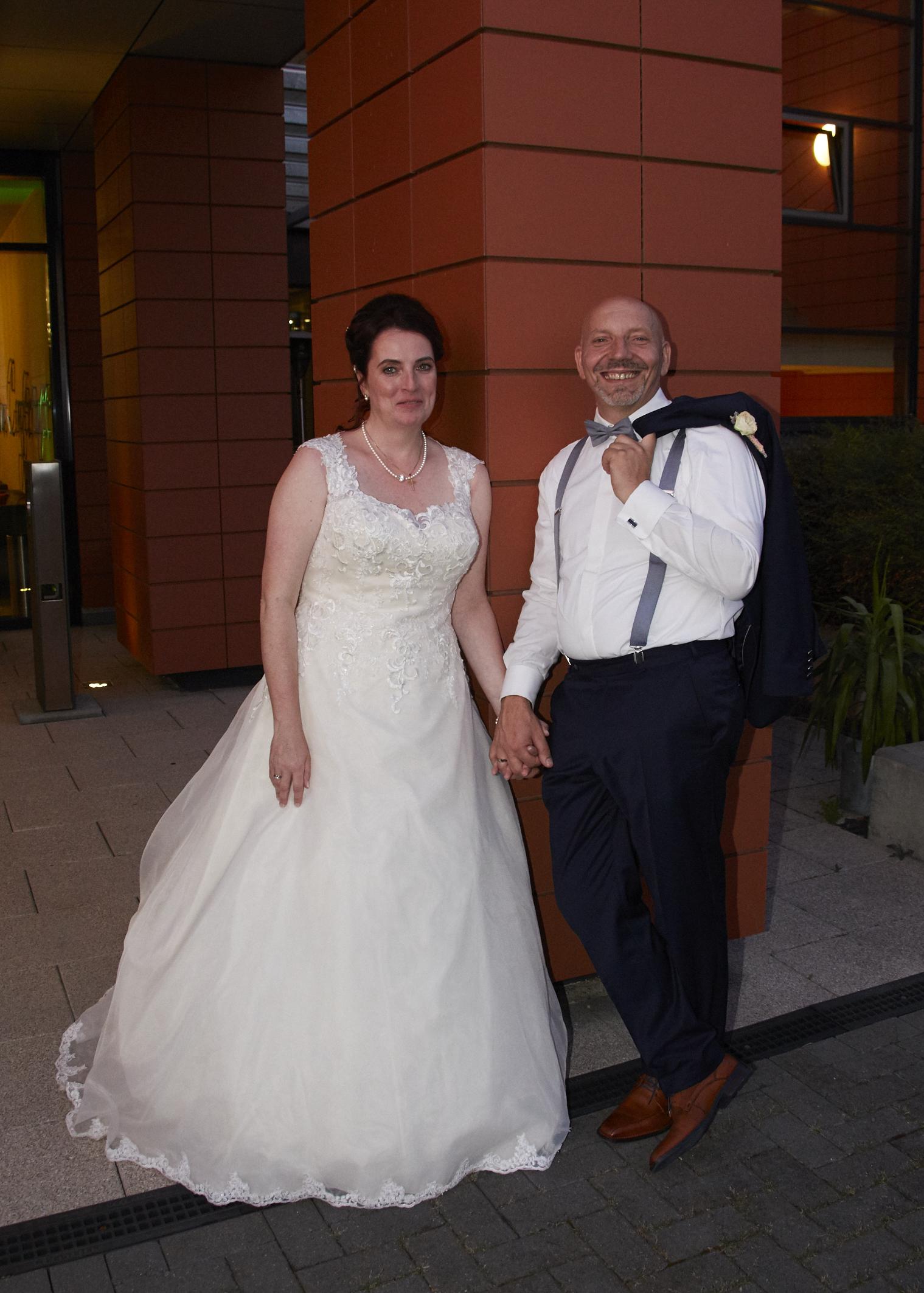 Aufnahme Hochzeitspaar