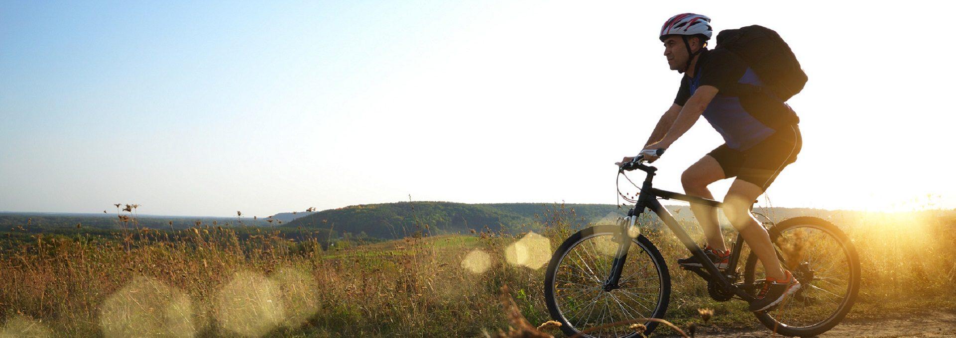 Aufnahme Radfahrer