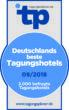 Zertifikat Deutschlands beste Tagungshotels