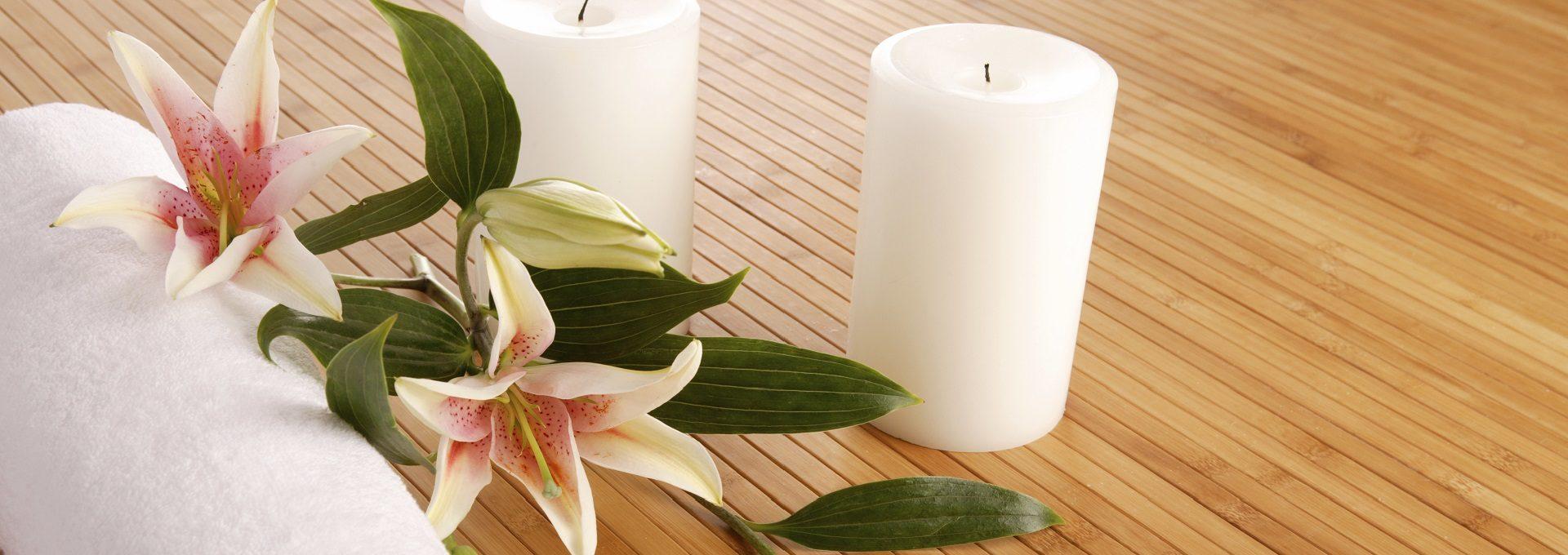 Detailaufnahme Kerzen