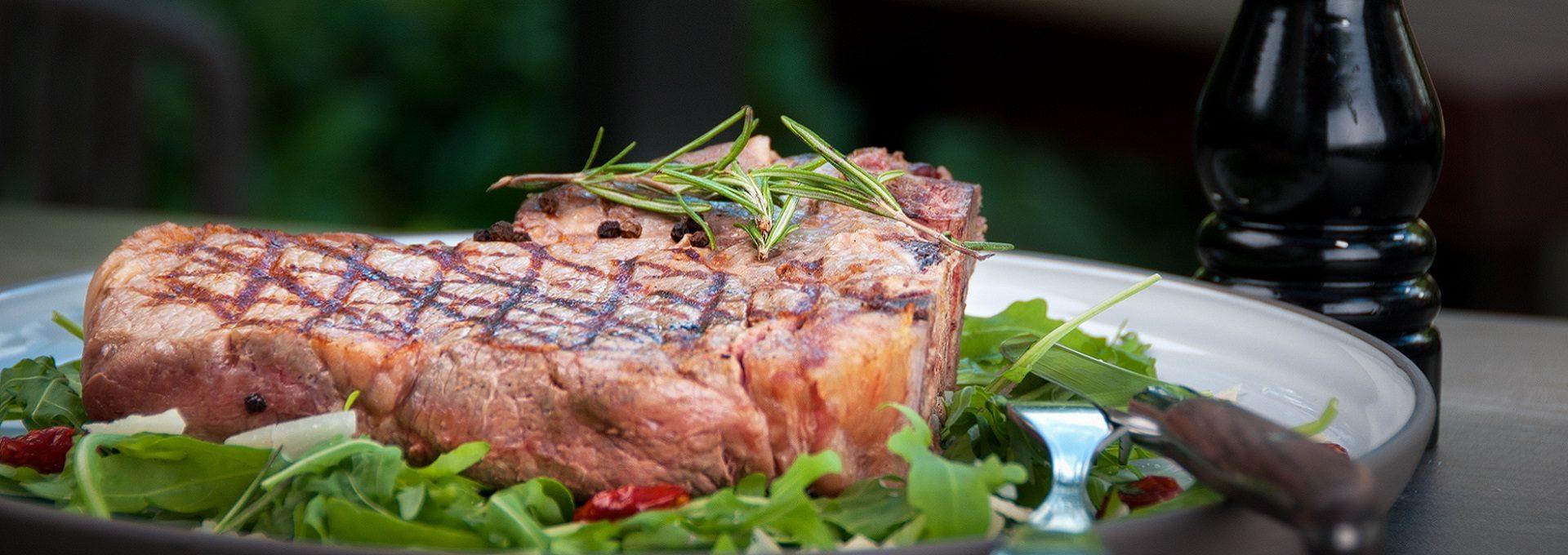 Detailaufnahme Steak