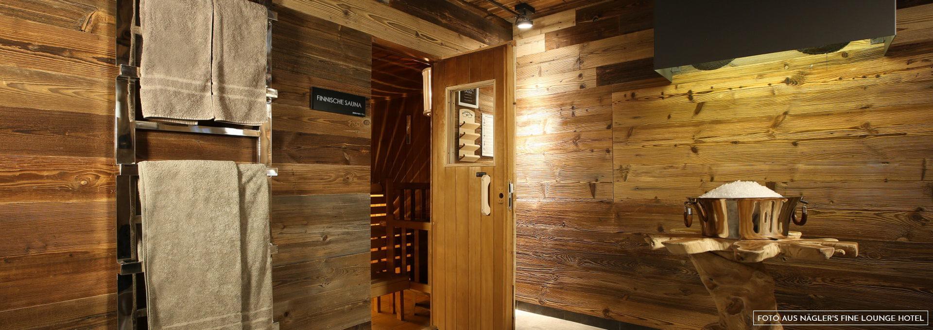 Finnische Sauna Näglers Fine Lounge Hotel Oestrich-Winkel