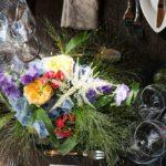 Azubitag 2019 - Es war einmal - Blumengesteck Restaurant Adagio