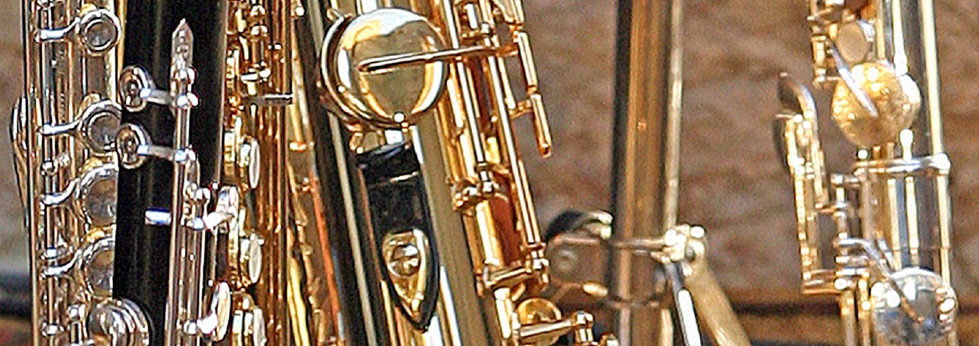 Aufnahme Saxophone