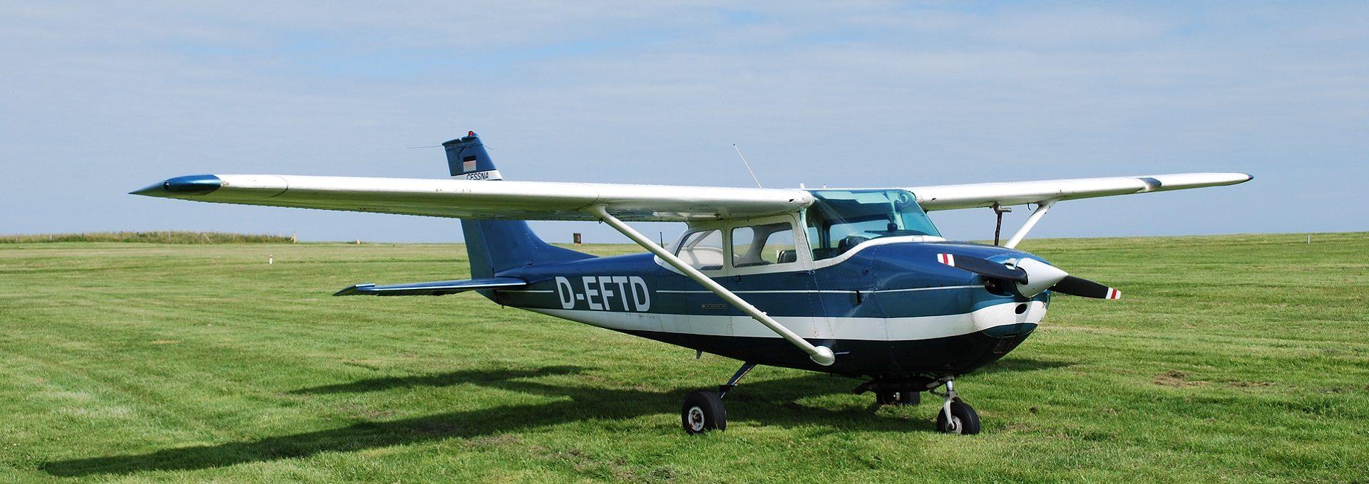 Aufnahme Flugzeug