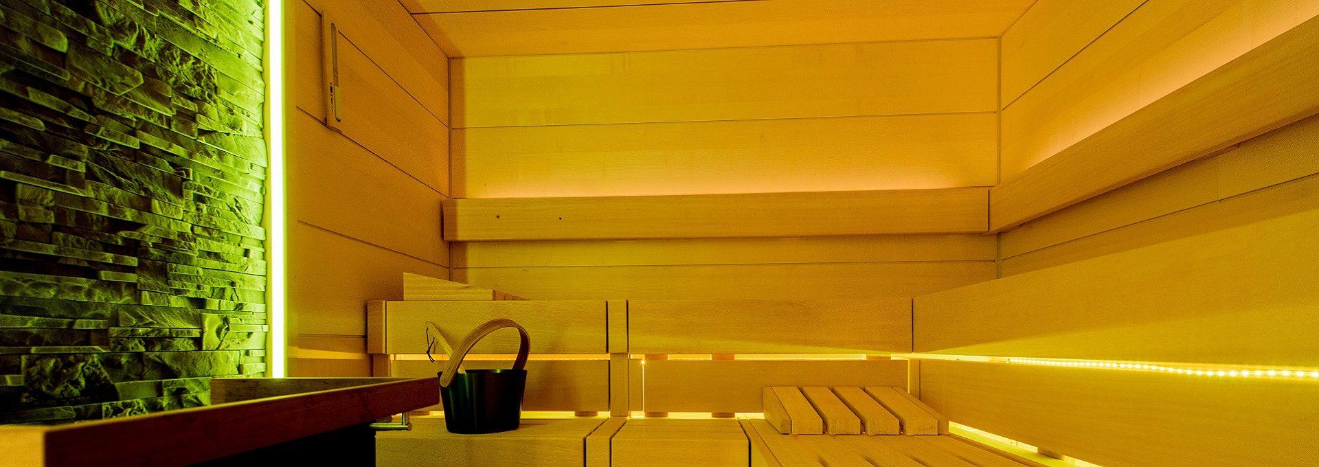 Aufnahme Sauna