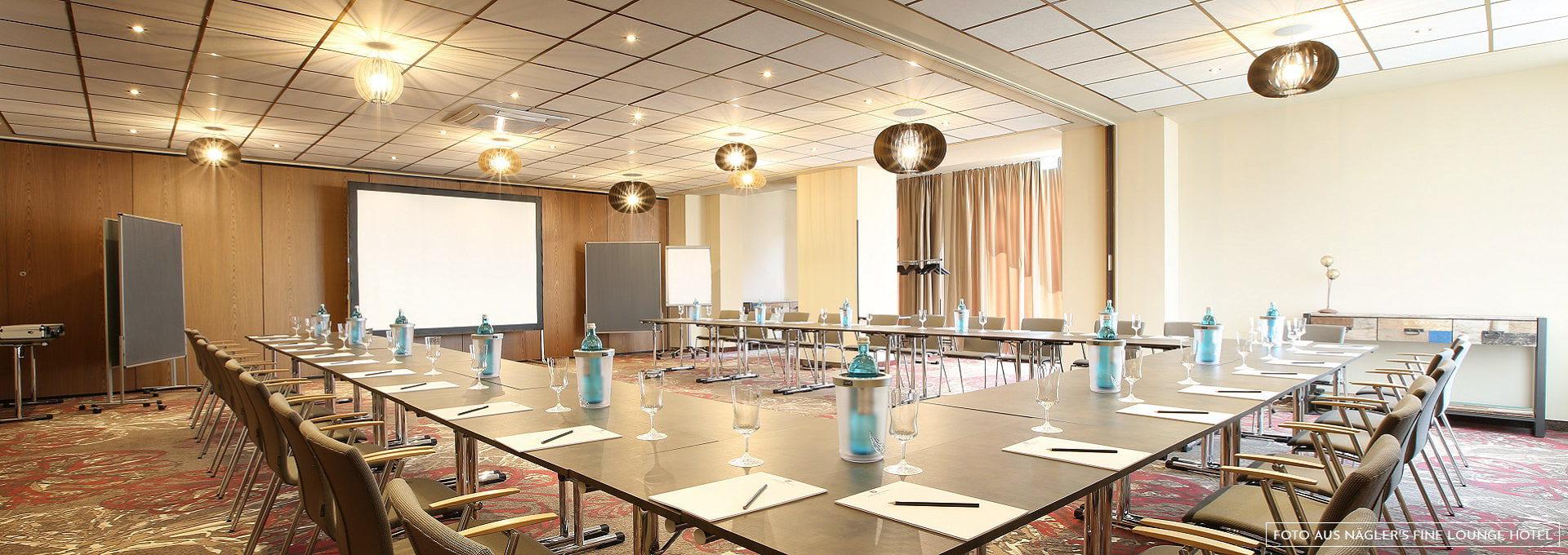 Tagungsraum Näglers Fine Lounge Hotel Oestrich-Winkel