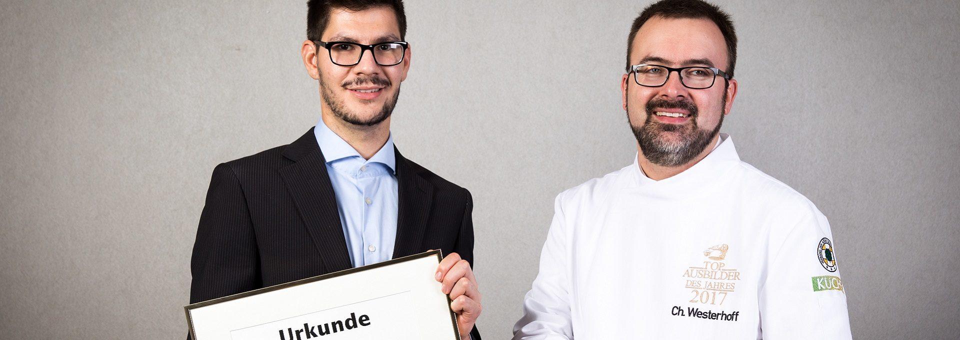 Aufnahme Christian Westerhoff, Tobias Friedl